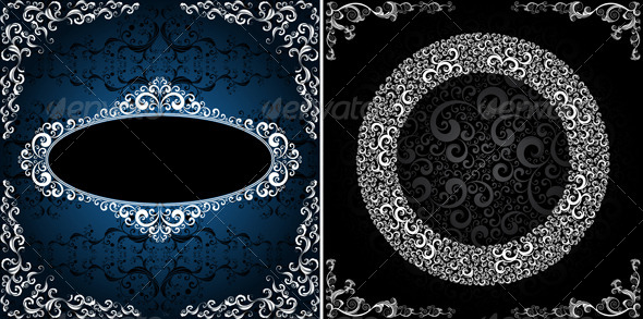 ornamented backgrounds