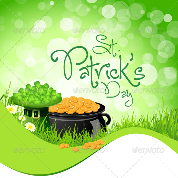 GraphicRiver St Patricks Day Background 4046511