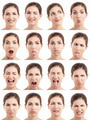 Multiple faces expressions - PhotoDune Item for Sale