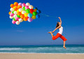 Jumping with balloons - PhotoDune Item for Sale