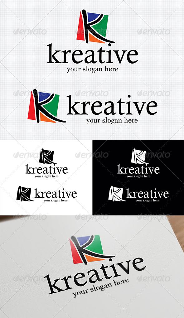 GraphicRiver K Letter Logo 4047219