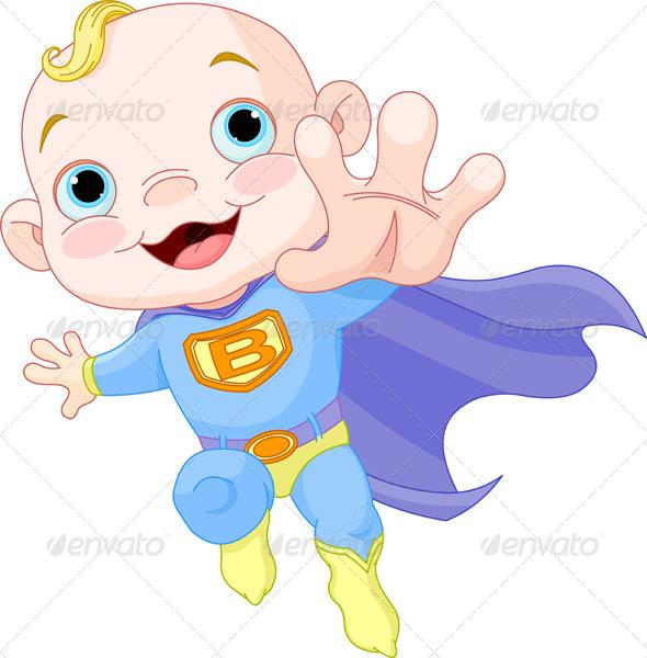 GraphicRiver Super Baby Boy 4047258