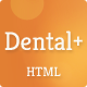 Dental+ HTML Template - ThemeForest Item for Sale