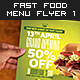 Mega Fast Food Menu Flyer Vol. 1 - GraphicRiver Item for Sale