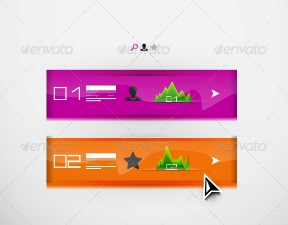 GraphicRiver Vector infographic banner design template 4047575