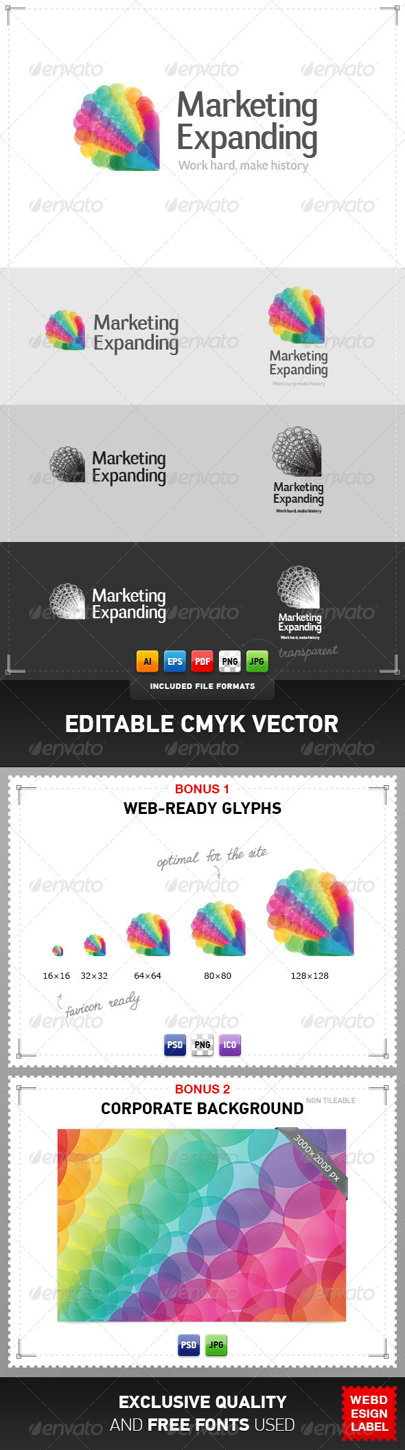 GraphicRiver Marketing Expanding Logo 4047583
