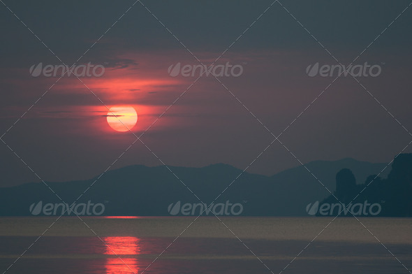 PhotoDune sunset 4048071