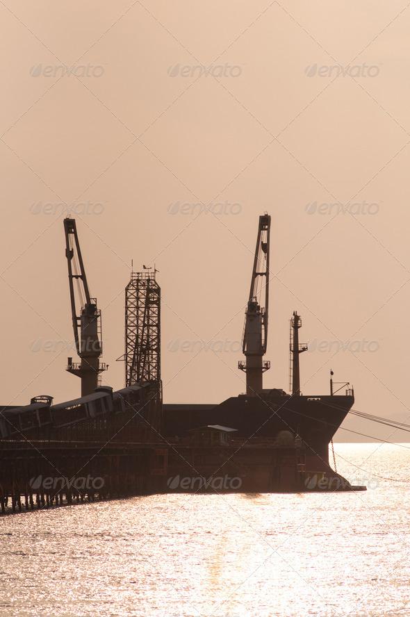 PhotoDune harbor 4048084