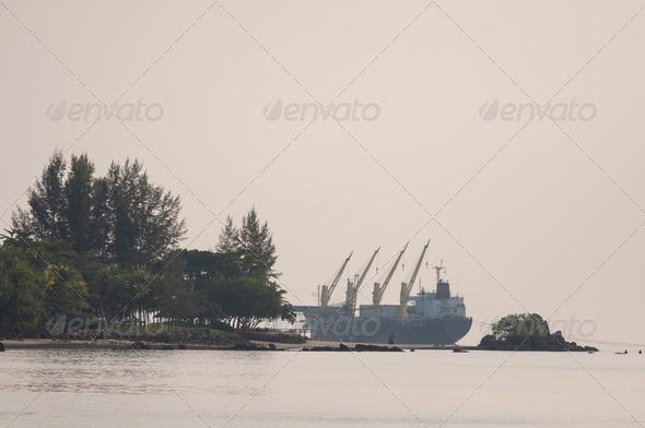 PhotoDune harbor 4048089