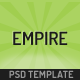 Empire - Business, Portfolio, Shop PSD - ThemeForest Item for Sale