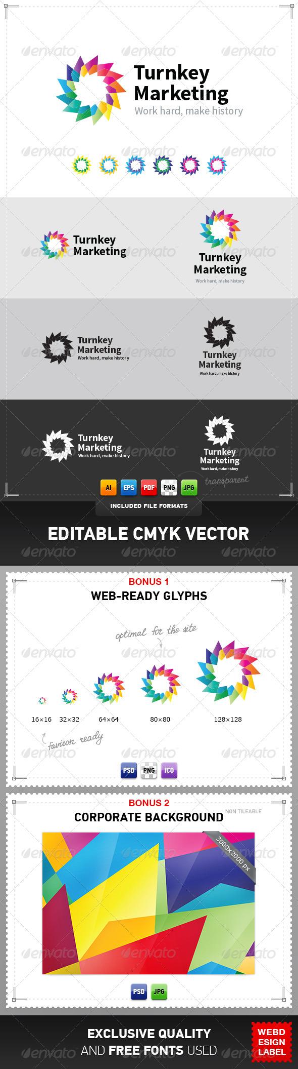 GraphicRiver Turnkey Marketing Logo 4047993