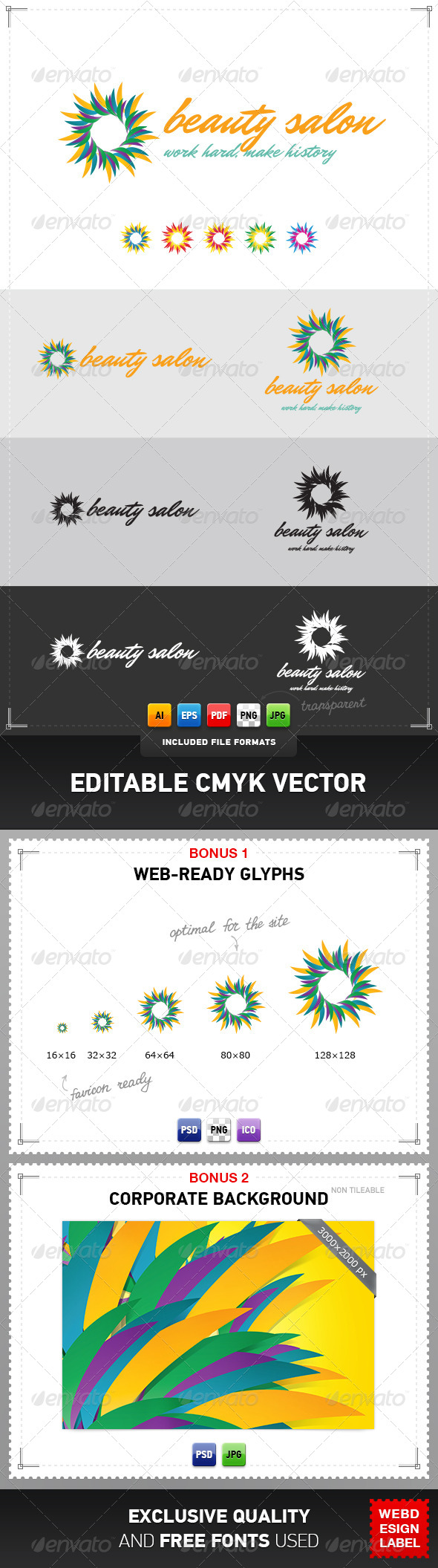 GraphicRiver Salon Logo 4048105