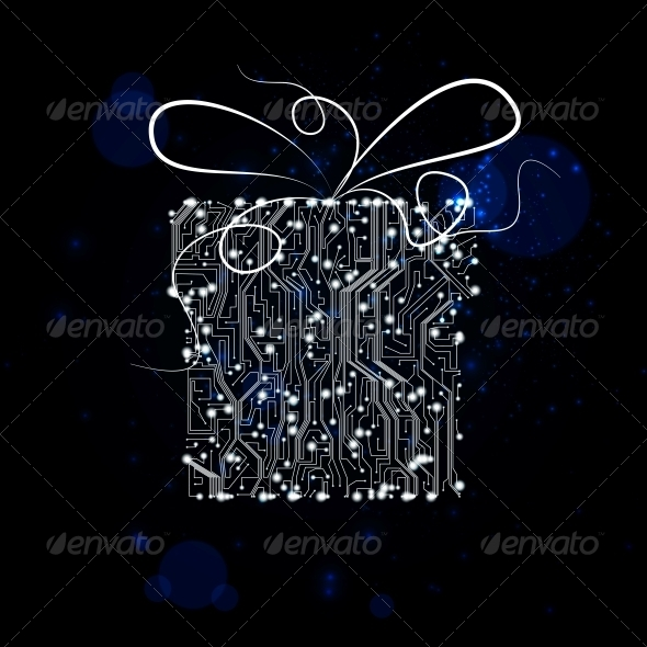 GraphicRiver circuit board vector background 4048604