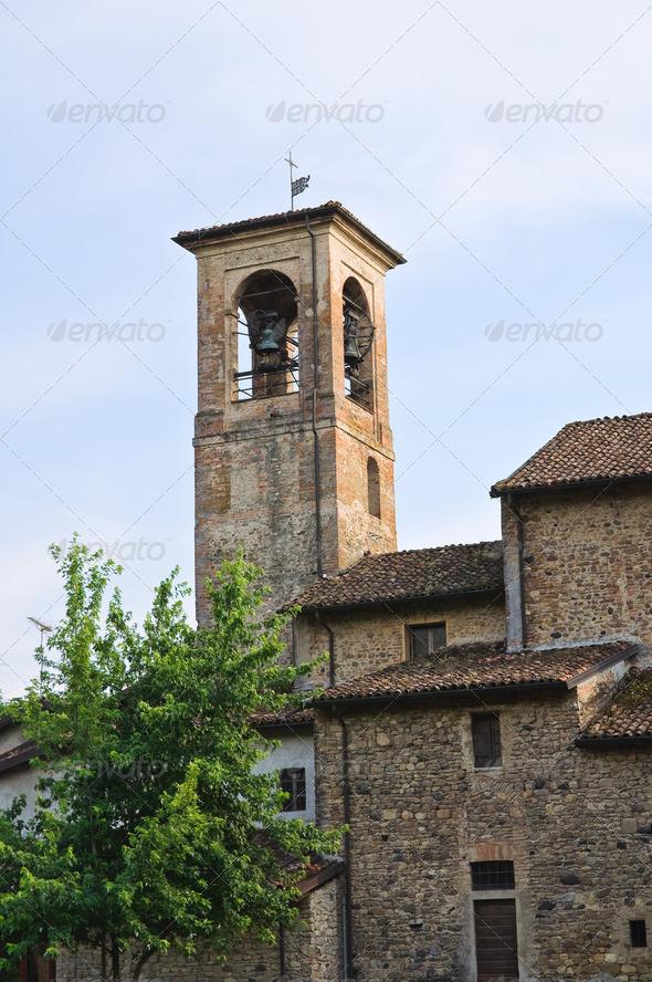PhotoDune View of Grazzano Visconti Emilia-Romagna Italy 4048775