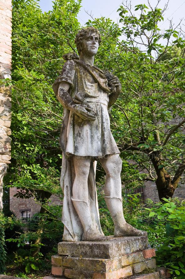 PhotoDune Stone statue Grazzano Visconti Emilia-Romagna Italy 4048786