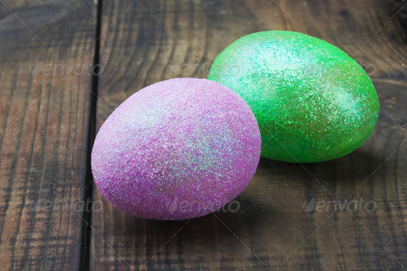 PhotoDune decorated with glitter easter egg 4081653