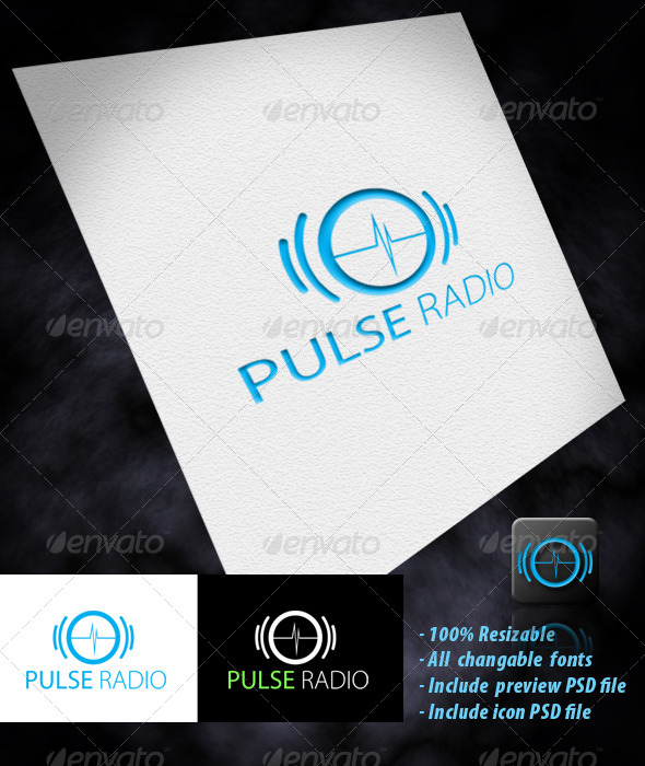 GraphicRiver Pulse Radio 4049320