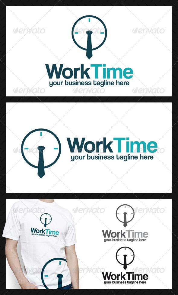 GraphicRiver Worktime Logo 3043140