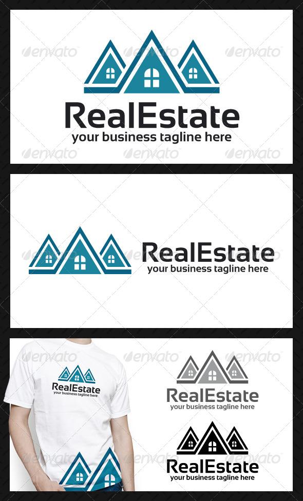 GraphicRiver Build Estate Logo Template 4049559