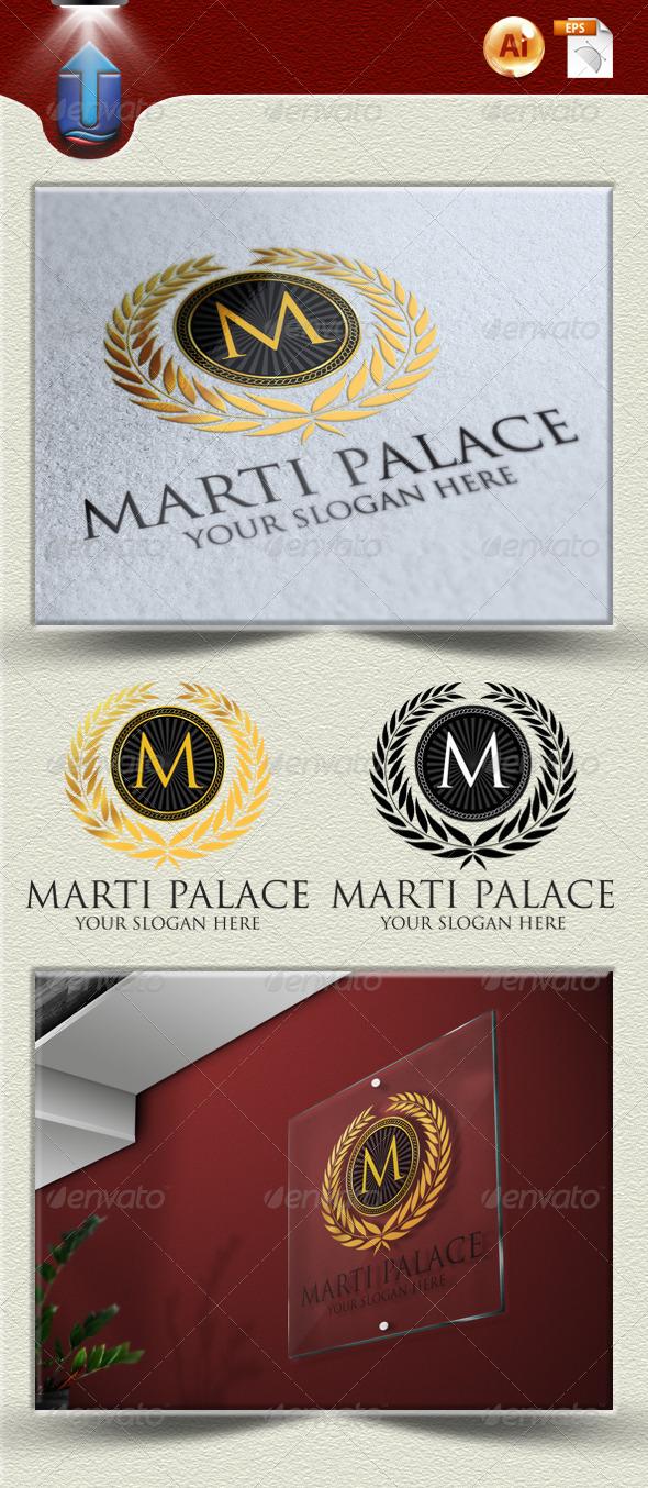 GraphicRiver Marti Palace Logo U 4050226