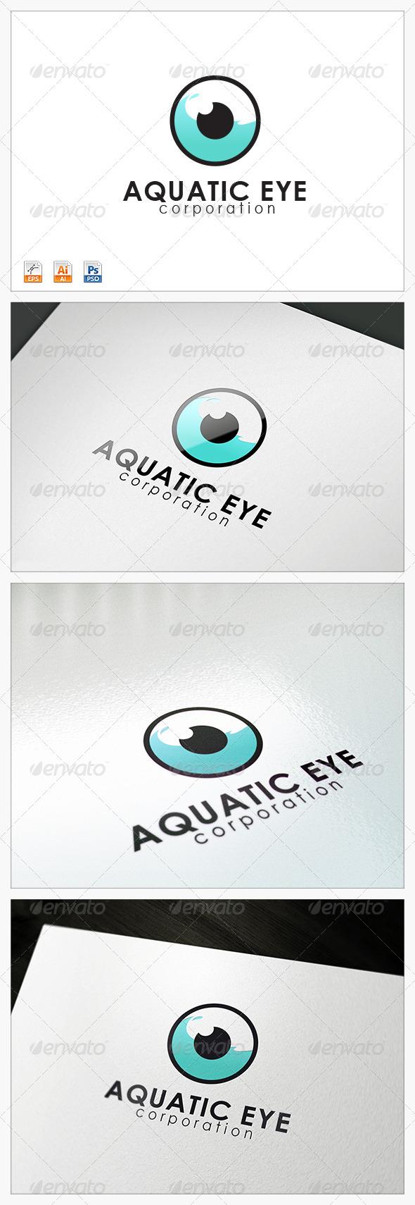 GraphicRiver Aquatic Eye logo 3765600