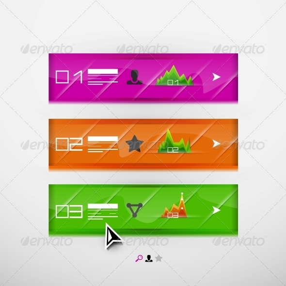 GraphicRiver Vector infographic banner design template 4050410