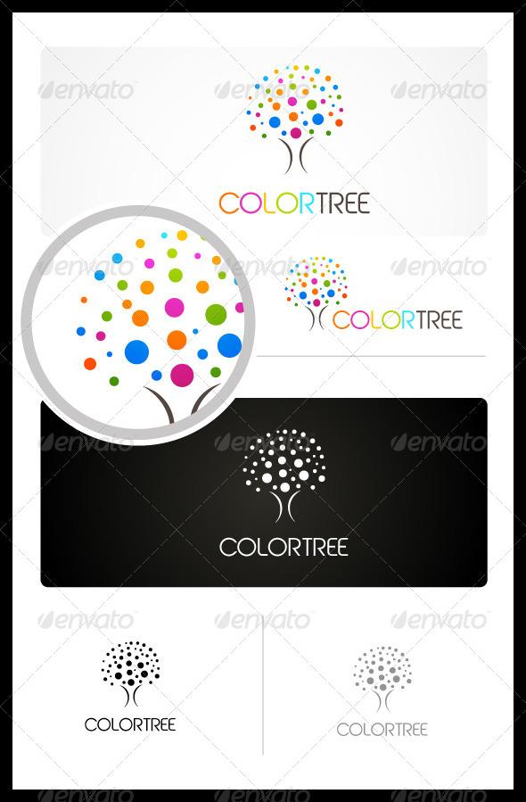 GraphicRiver Color Tree 3456248