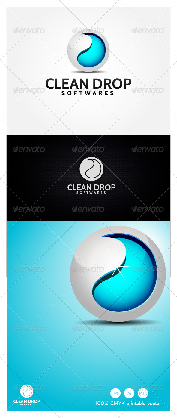 Clean Drop Software - 3d Abstract