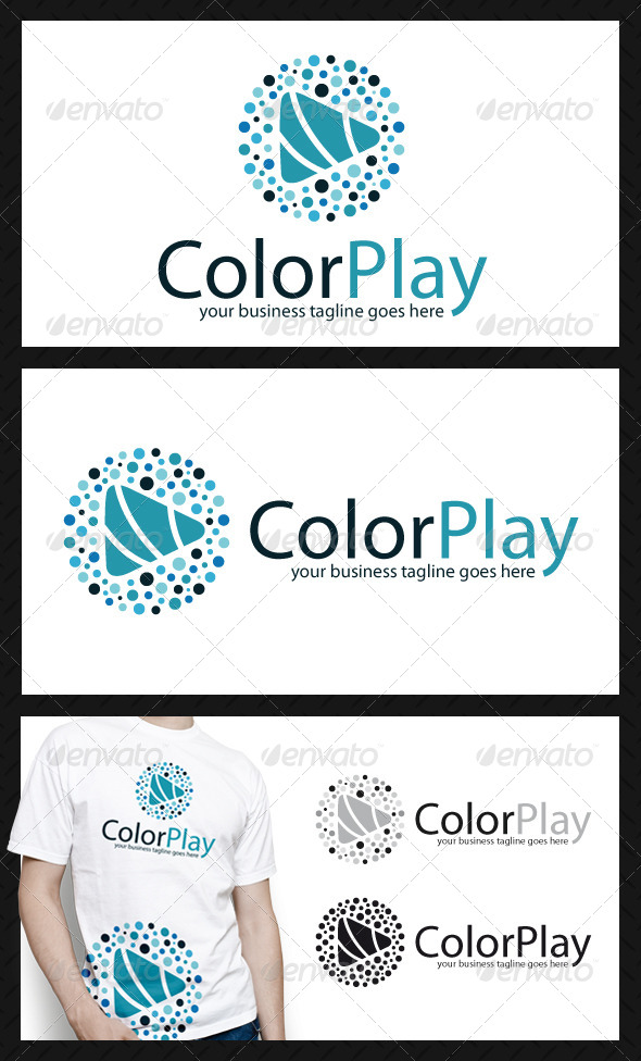 GraphicRiver Creative Play Logo Template 4051806