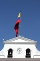Government building and waving flag of Ecuador in Quito, Ecuador - PhotoDune Item for Sale