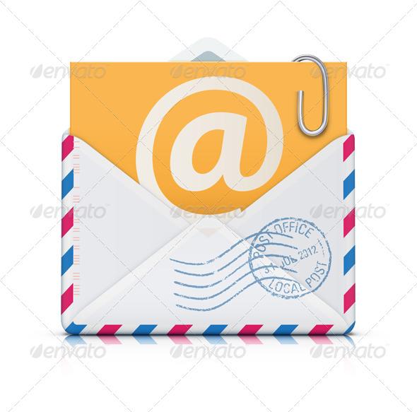 GraphicRiver E-mail Concept 4052901