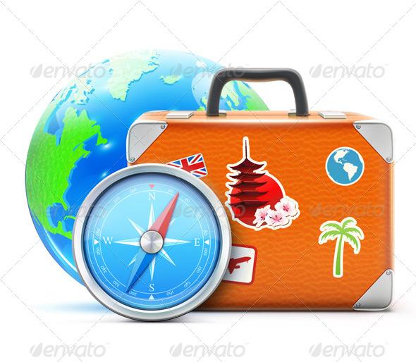 GraphicRiver Travel Concept 4053027