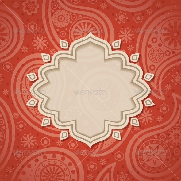 GraphicRiver Frame in the Indian Style 4053204
