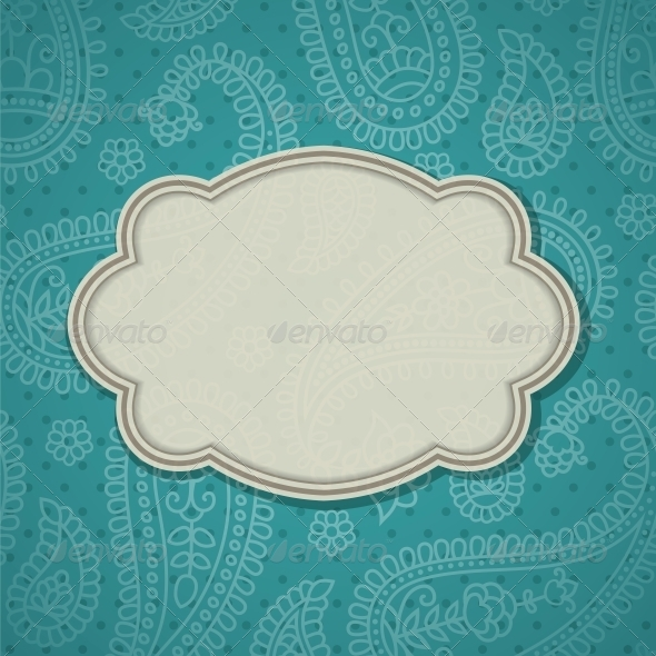 GraphicRiver Frame in the Indian Style 4053386