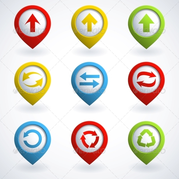 GraphicRiver Arrow Buttons 4053397