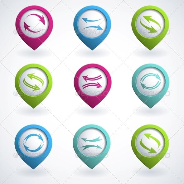 GraphicRiver Arrow Buttons 4053398