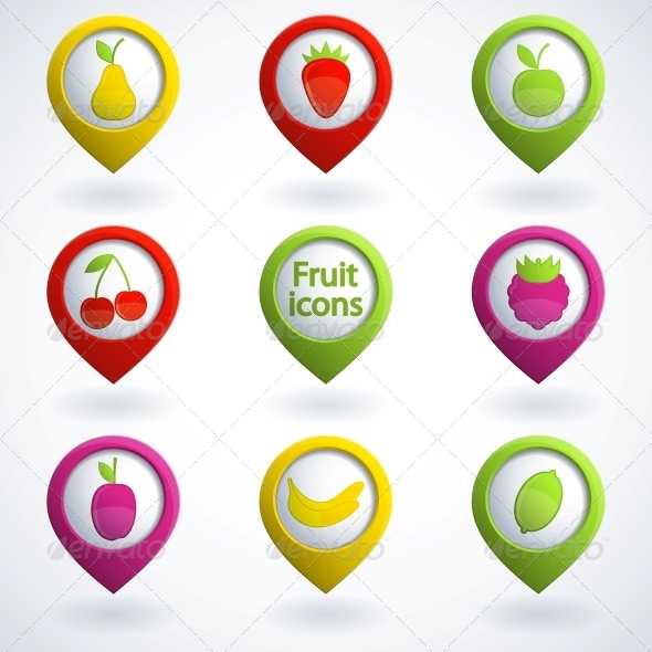 GraphicRiver Fruit Icons 4053583