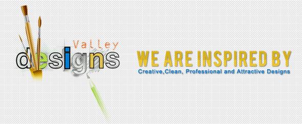 Designs valley banner