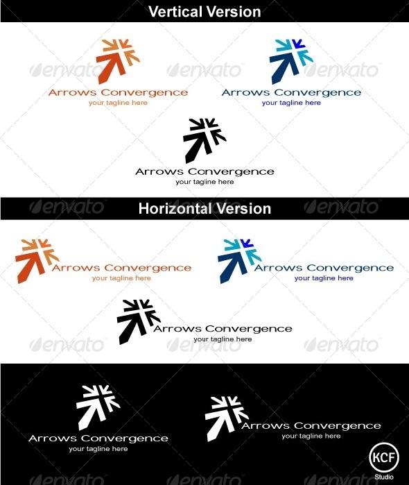 GraphicRiver Convergence Logo Design 3700773
