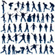 Children Silhouettes - GraphicRiver Item for Sale