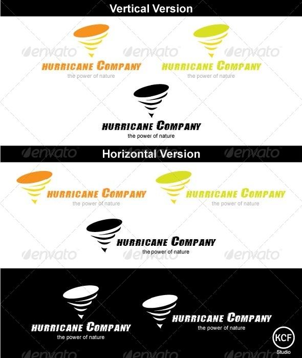 GraphicRiver Hurricane Logo Design 3713905