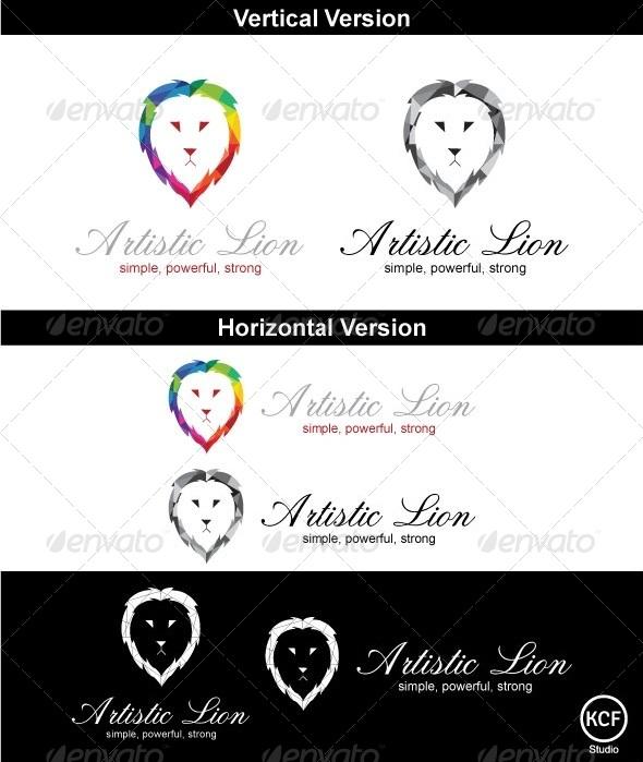 GraphicRiver LionArt Logo Design 3700852