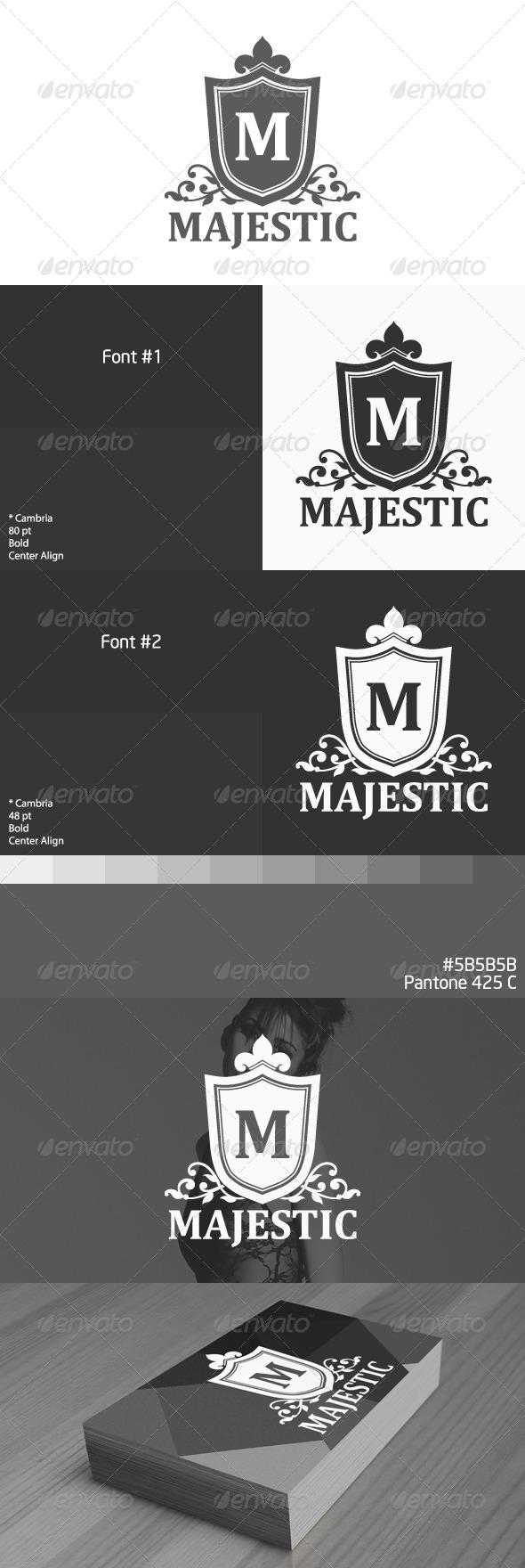 GraphicRiver Majestic Logo 3925959
