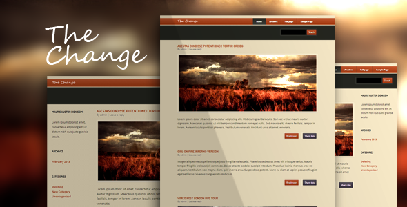 ThemeForest The Change WP 3997573