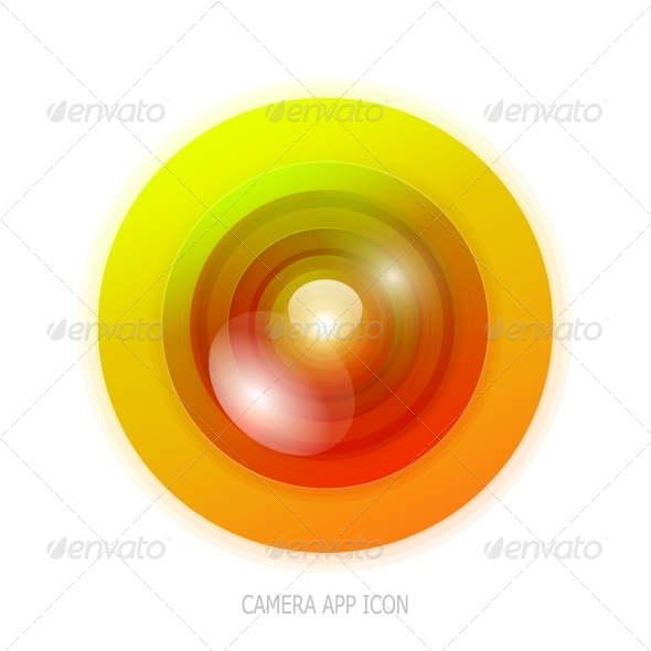 GraphicRiver Colourful Camera App Icon 4055451
