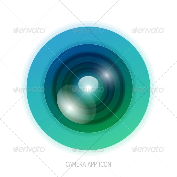 Colourful Camera App Icon