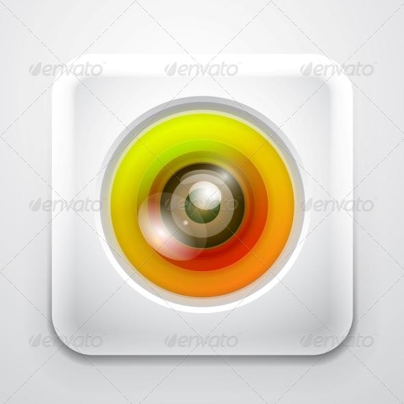 GraphicRiver Colourful Camera App Icon 4055516