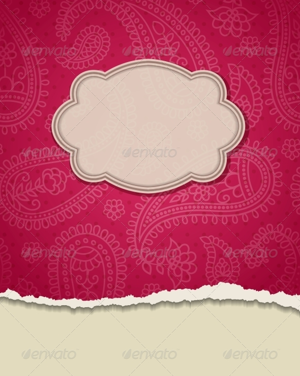 GraphicRiver Indian Frame 4055563