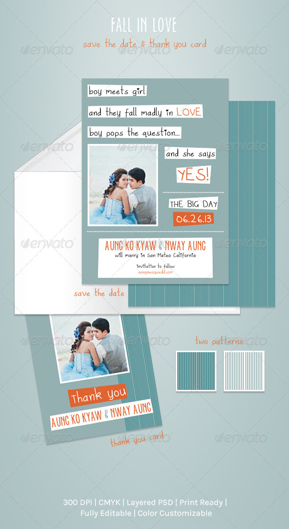 GraphicRiver Fall In Love 4055564
