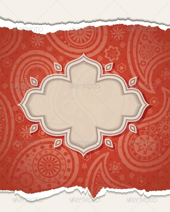 GraphicRiver Indian frame 4055566